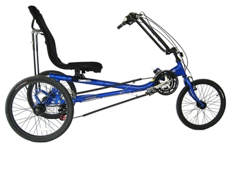 Quest Recumbent Trike True Bicycles, Quest Recumbent Trike, Tricycle, Comfort, delta Style