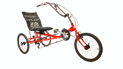 Quest Recumbent Trike True Bicycles, Quest Recumbent Trike, Tricycle, Comfort, delta Style, Recumbent, three wheel, On Sale