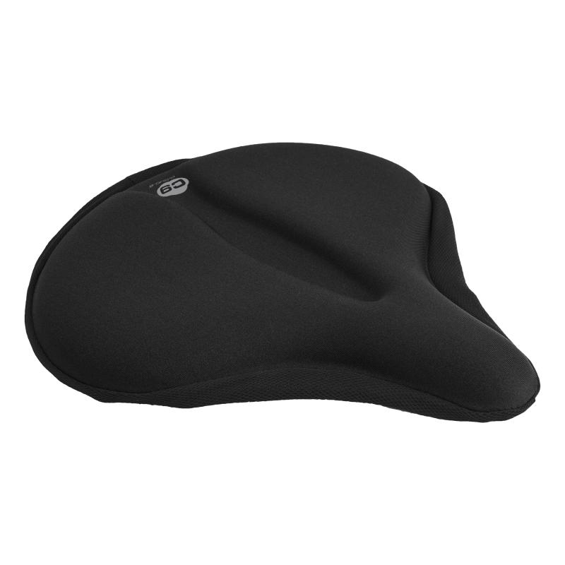"""11X6.75/"""" Black Road Cloud-9 Gel Air Seat Cover Saddles"""