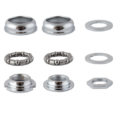BLACK OPS Bottom Bracket Set Chrome