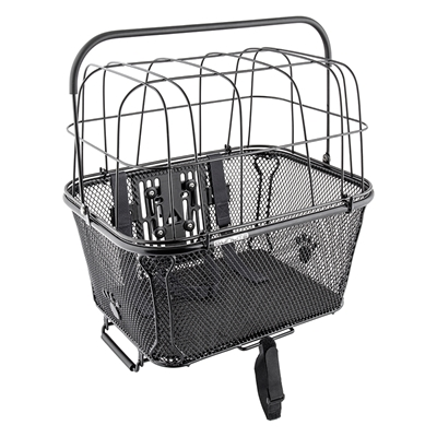 SUNLITE RackTop/Handlebar Pet Friendly QR Basket
