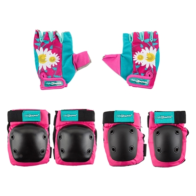 KIDZAMO HD Elbow/Knee Pad & Glove Set