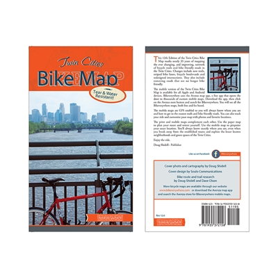 LITTLE TRANSPORT Twin Cities Bike Map
