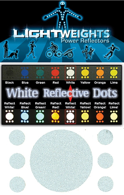 LIGHTWEIGHTS Reflective Dots 7pc